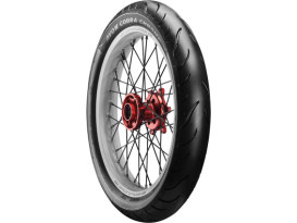 Avon Cobra Chrome 23in. Whitewall Front Tyre. 130/60-R23 AV91 WW.