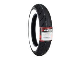 Avon Cobra Chrome 16in. Whitewall Rear Tyre. MT90-B16 AV92 74H WW.
