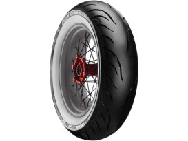 Avon Cobra Chrome 18in. Whitewall Rear Tyre. 150/70-VB18 AV92 WW.