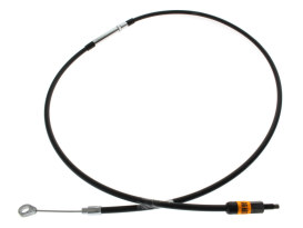 Black Vinyl Clutch Cable. Fits Sportster 1986up. 59in. Long.