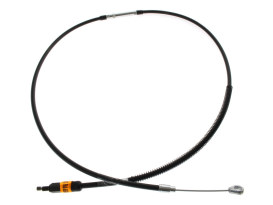 Black Vinyl Clutch Cable. Fits Big Twin 2007up 6spd. 63in. Long.
