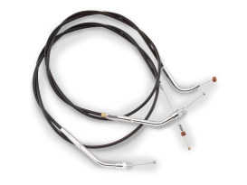 Black Vinyl Throttle Cable. Fits Sportster 2007up. 31.5in. Long.