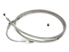 73-5/16in. Clutch Cable - Stainless. Fits Victory Crusier 2008-2017.