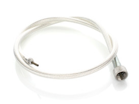 36in. Speedo Cable with 16mm Nut - Platinum Braided.