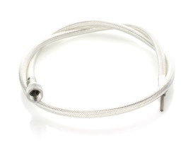 35in. Speedo Cable with 12mm Nut -  Platinum Braided.