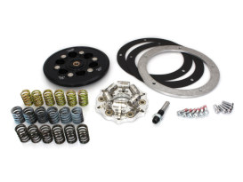 Lock-Up Pressure Plate Kit. Fits Big Twin 1998up, Using OEM Cable Clutch.
