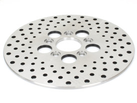 10in. Front & Rear Disc Rotor - Stainless Steel. Fits Front on FL 1972-1984, FX & Sportster 1973 & Rear on Big Twin 1973-1980.