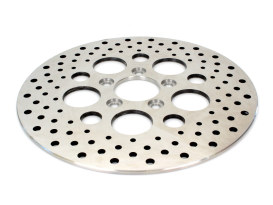 11.5in. Rear Disc Rotor - Stainless Steel. Fits Big Twin & Sportster 2000up.