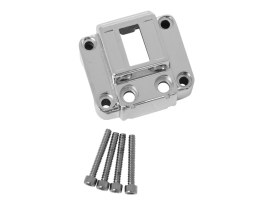 Vertical Switch Housing - Chrome. Fits Big Twin & Sportster 1972-1981.
