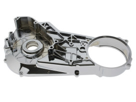 Inner Primary Cover - Chrome. Fits Softail 1989-1993.