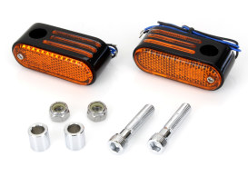 Doss Marker Turn Signal with Amber Lens & 5/16