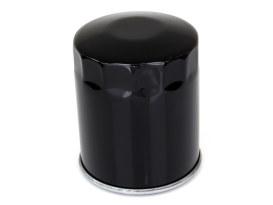 Oil Filter - Black. Fits Softail 1984-1998, Sportster 1984up, FXR & FLT 1980-1998 & Buell 1995-2002.