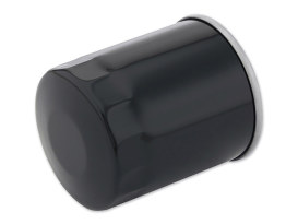 Oil Filter - Black. Fits Twin Cam 1999-2017 & Milwaukee-Eight 2017up.
