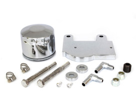 Oil Filter & Regulator Mount Kit. Fits Big Twin 1975-1984 with 4 Speed Transmission & Softail 1984-1999 Models.