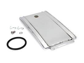 Lower Fuel Tank Panel - Chrome. Fits Softail 1984-1999.