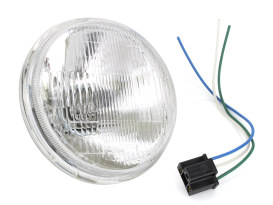 5-3/4in. Headlight Lens with H4 Bulb.