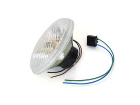 5-3/4in. Headlight Lens with H4 Bulb & 5W Park Light.