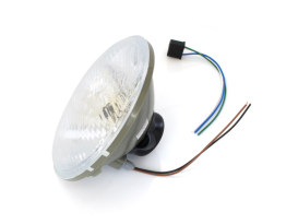 7in. Headlight Lens with H4 Bulb & 5W Park Light.