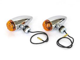 Mini Stretch Bullet Turn Signal - Chrome.