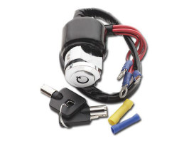 Ignition Switch. Fits Dyna 1994-2003, Sportster 1994-2011 & FXR 1994.
