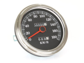 5in. KPH Speedometer. Fits FXWG & FLH 1981-1984 with 4 speed Transmission & Softail 1984-1995.