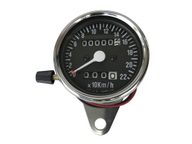 KPH Mini Speedo with Trip Meter & 2:1 Ratio.