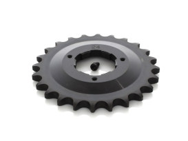 24 Teeth Front Transmission Sprocket. Fits Big Twin 1980-1984 with 5 Speed Transmission.