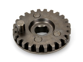 24 Teeth Kick Start Crank Gear. Fits Big Twin 1936-1986 with 4 Speed Transmission.