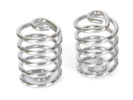 3in. Barrel Style Seat Spring - Chrome.