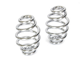 3in. Tapered Seat Spring - Chrome.
