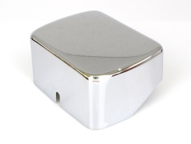 Coil Cover - Chrome. Fits Big Twin 1965-1986 with 4 Speed Transmission & Softail 1984-1999.
