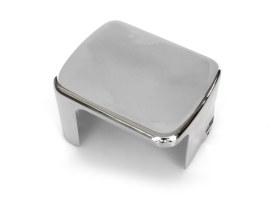 Coil Cover - Chrome. Fits Carbureted Softail Models 2000-2006.