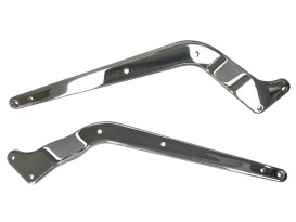 Rear Fender Struts - Chrome. Fits Softail 1986-1999.