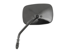 Left Hand OEM 1973-2002 Style Mirror with Black Finish.