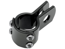 Three Piece Frame Clamp with 1-1/4in. Clamping - Black.