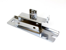 Coil Bracket - Chrome. Fits Big Twin 1965-1982 with 4 Speed Transmission.