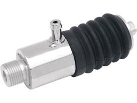 Rear Brake Master Cylinder - Chrome. Fits Softail 1987-1999 & FXR 1987-1994.