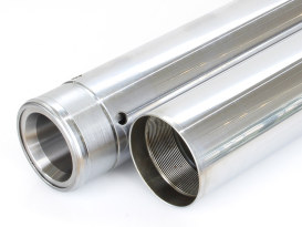 Fork Tubes. Fits 39mm Narrow Glide Front End 2004up as 4in. Oversize.