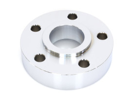 1in. Pulley Spacer with Lip. Fits H-D 2000up Wheels. Chrome.