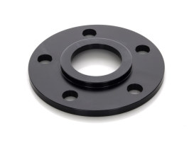 1/4in. Pulley Spacer with Lip. Fits H-D 2000up Wheels. Gloss Black.