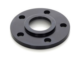 5/16in. Pulley Spacer with Lip. Fits H-D 2000up Wheels. Gloss Black.