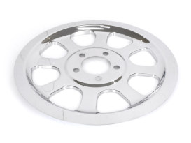 Rear Pulley Cover - Chrome. Fits Softail 2000-2006 with 70 Tooth Pulley.
