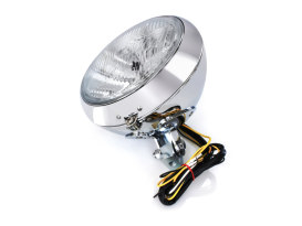 7in. Headlight - Chrome. Fits FL Softail 1986up.