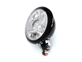 5-3/4in. LED Headlight with Bottom Mount - Black.</P><P>