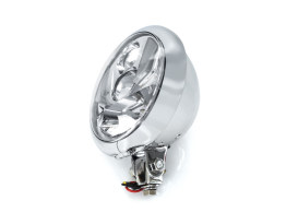 5-3/4in. LED Headlight with Bottom Mount - Chrome.