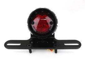 Retro Bobber LED Taillight - Black.