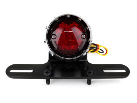 Retro Bobber LED Taillight - Chrome.