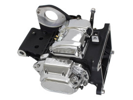 DD6, Direct Drive 6 Speed Transmission Assembly with Black Finish & 2.94 1st Gear Ratio. Fits Softail 2000-2006.