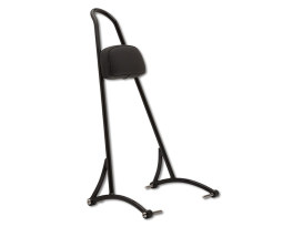 20in. Tall Sissy Bar with Pad - Black. Fits Dyna 2006-2017.