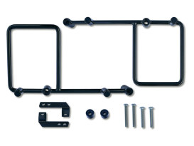 Burly Saddlebag Bracket Kit. Sportster 1996up